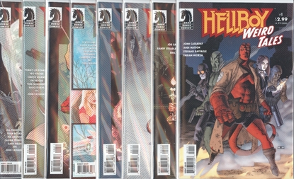 Picture of HELLBOY WEIRD TALES (2003) #1-8 SET VF/NM
