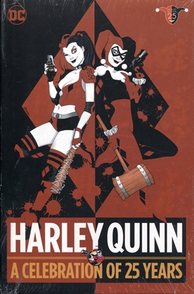 Picture of HARLEY QUINN A CELEBRATION OF 25 YEARS HC