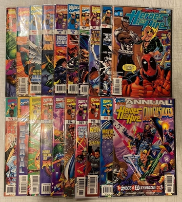 Picture of HEROES FOR HIRE (1997) #1-19 + 1998 ANNUAL SET VF/NM