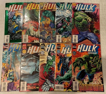 Picture of HULK 2099 (1993) #1-10 SET VF/NM
