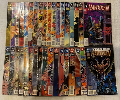 Picture of HAWKMAN (1993) #1-33 & ANNUAL #1 +2 SET VF/NM