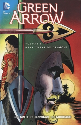 Picture of GREEN ARROW TP VOL 02 HERE THERE BE DRAGONS