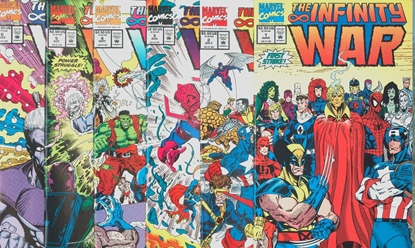 Picture of INFINITY WARS (1992) #1- 6 SET NM-