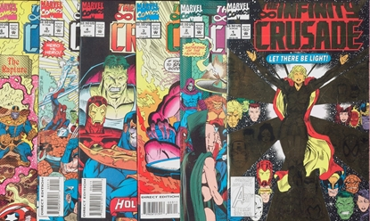 Picture of INFINITY CRUSADE (1993) #1- 6 SET NM-