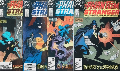 Picture of PHANTOM STRANGER (1987) #1-4 SET VF+