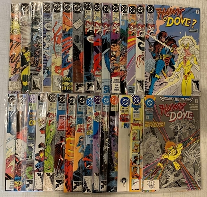 Picture of HAWK & DOVE (1989) #1-28 + ANNUAL #1 #2 SET VF+