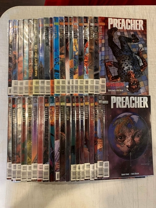Picture of PREACHER (1995) #2-66 + 5 SPECIALS MISSING #1 SET VF/NM