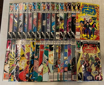 Picture of PSI FORCE (1987) #1-32 & ANNUAL 1 COMPLETE SET