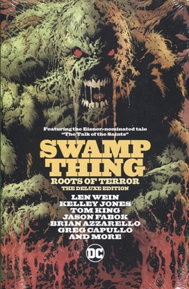Picture of SWAMP THINGS ROOTS OF TERROR DELUXE EDITION HC