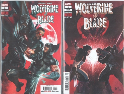 Picture of WOLVERINE VS BLADE SPECIAL #1 1ST PRINT & VARIANT COVER SET NM