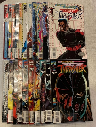 Picture of NIGHT THRASHER (1993) # 1-21 SET VF/NM
