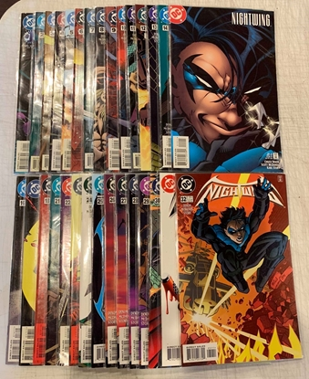 Picture of NIGHTWING (1996) #1-153 +ANNUAL #2 SET VF/NM MISSING #19 20 ANN #1