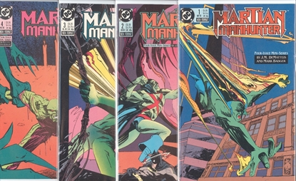 Picture of MARTIAN MANHUNTER (1988) #1-4 SET VF+