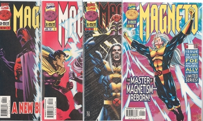 Picture of MAGNETO (1996) #1-4 SET VF/NM