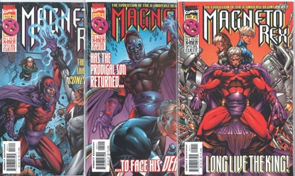 Picture of MAGNETO REX (1999) #1-4 SET VF/NM
