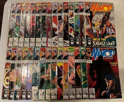 Picture of NAMOR THE SUB-MARINER (1990) #1-62  ANNUAL #1-4 SET VF/NM