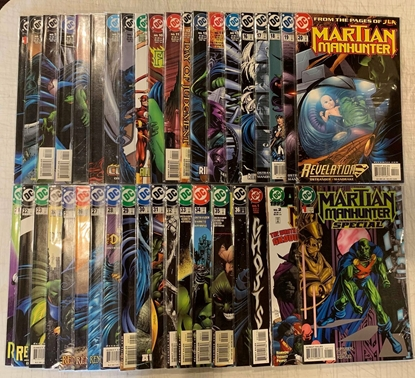 Picture of MARTIAN MANHUNTER (1998) #0 1-36 + ANNUAL #1 & 2 + SPECIAL SET VF/NM