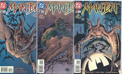 Picture of MAN-BAT (1996) #1-3 NM-