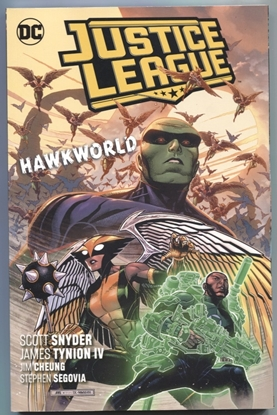 Picture of JUSTICE LEAGUE TP VOL 03 HAWKWORLD
