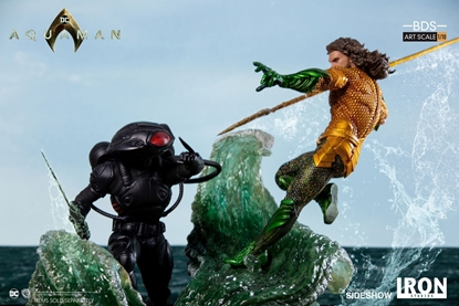 Picture of AQUAMAN & BLACK MANTA Art Scale 1:10 IRON STUDIOS STATUE SET