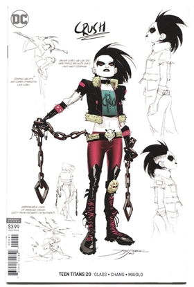 Picture of TEEN TITANS #20 VARIANT EDITION FEATURING CRUSH VF