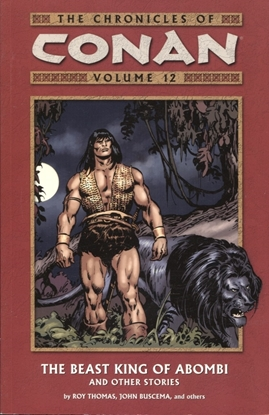 Picture of CHRONICLES OF CONAN TP VOL 12 BEAST KING OF ABOMBI