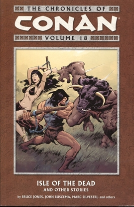 Picture of CHRONICLES OF CONAN TP VOL 18 ISLE OF DEAD