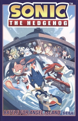 Picture of SONIC THE HEDGEHOG TP VOL 03 BATTLE FOR ANGEL ISLAND