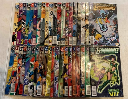 Picture of LEGIONNAIRES (1993) #1-81 + ANNUAL #1 2 3 COMPLETE SET VF/NM