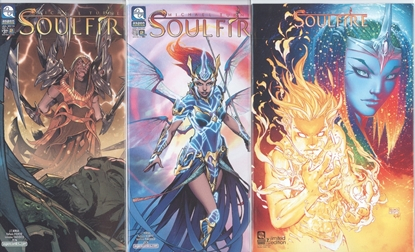 Picture of SOULFIRE VOL 8 #2 CVR A B C 3 COVER SET NM