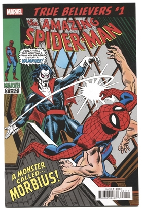 Picture of TRUE BELIEVERS SPIDER-MAN MORBIUS #1