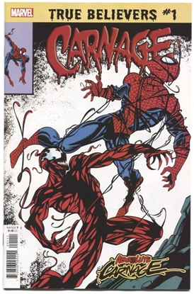 Picture of TRUE BELIEVERS ABSOLUTE CARNAGE CARNAGE #1