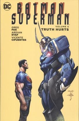 Picture of BATMAN SUPERMAN TP VOL 05 TRUTH HURTS