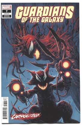Picture of GUARDIANS OF THE GALAXY #7 CAMUNCOLI CARNAGE-IZED VAR
