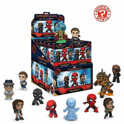 Picture of FUNKO MYSTERY MINI SPIDER-MAN FAR FROM HOME NEW VINYL FIGURES