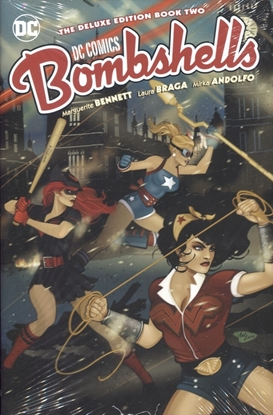 Picture of DC BOMBSHELLS THE DELUXE ED HC BOOK 02