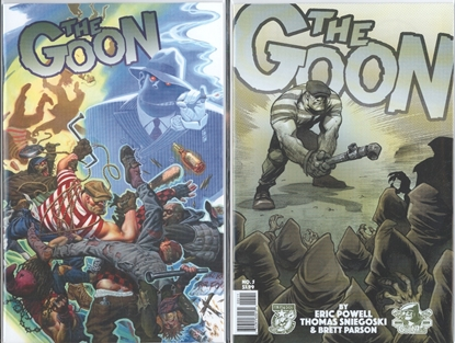 Picture of GOON #5 1ST PRINT & RUDE VARIANT 2 COVER SET NM