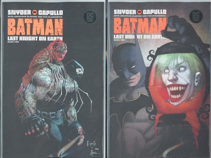 Picture of BATMAN LAST KNIGHT ON EARTH #2 1ST PRINT & VARIANT COVER SET NM