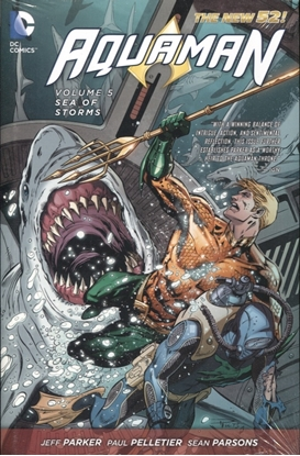 Picture of AQUAMAN HC VOL 05 SEA OF STORMS
