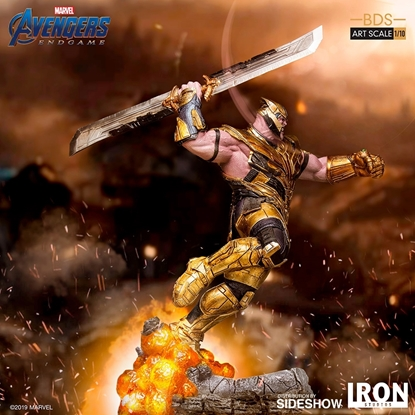 Picture of Thanos Avengers: Endgame Art Scale 1:10 Battle Diorama STATUE
