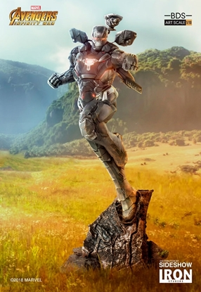Picture of WAR MACHINE INFINITY WAR ART SCALE 1:10 BATTLE DIORAMA STATUE IRON STUDIOS