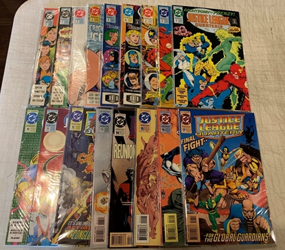 Picture of JUSTICE LEAGUE QUARTERLY (1990) #1-17 COMPLETE SET HIGH GRADE JLA