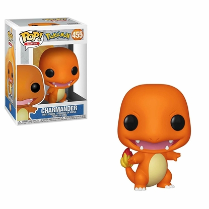 Picture of FUNKO POP GAMES POKEMON CHARMANDER #455 NEW VINYL FIGURE