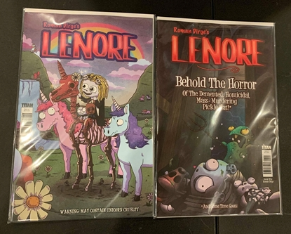 Picture of LENORE VOLUME III #1 CVR A B C 3 COVER SET NM