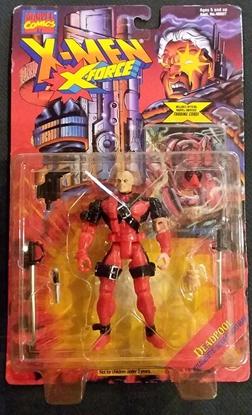 Picture of TOY BIZ MARVEL COMICS X-MEN X-FORCE DEADPOOL ACTION FIGURE