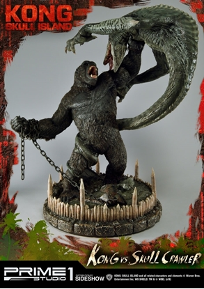 Picture of Kong vs Skull Crawler PRIME ONE SIDESHOW STATUE