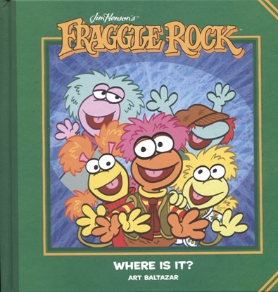 Picture of JIM HENSONS FRAGGLE ROCK WHERE IS IT HC