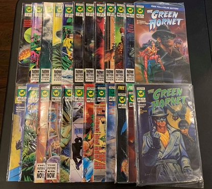 Picture of THE GREEN HORNET (1991) #1-40 + ANNUAL & SPECIAL #1 SET VF/NM