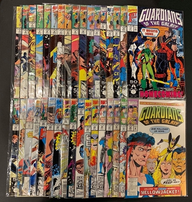 Picture of GUARDIANS OF THE GALAXY (1990) #1-62 + ANNUALS #1-4 SET VF/NM