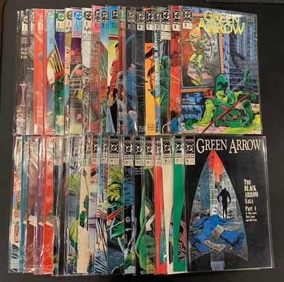 Picture of GREEN ARROW (1988) #1-137 + ANNUALS #1-7 + SECRET FILES & ORIGINS SET